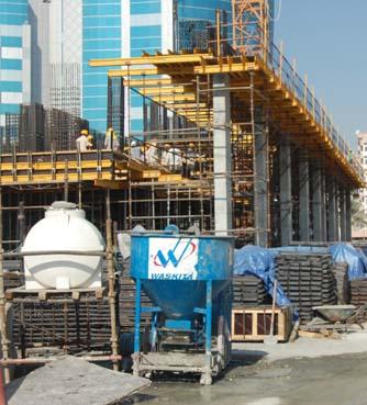 Proyek PT. Wijaya Karya di Dubai