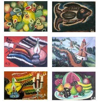 beberapa karya lain Esref Ermagan